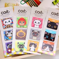 Wholesale New Sweet Cat series Mini Magnetic Bookmark office school stationery supplies HY Global