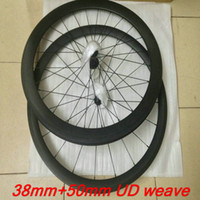 Wholesale Hot sale carbon full carbonC white red grey decal road bike carbon alloy wheels mm C carbon bike wheelset Include quick release