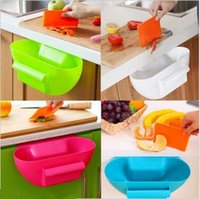 Wholesale 4 Colors cm Home Kitchen Cabinet Trash Storage Box Organizers Garbage Holder Portable Trash Storage Boxes CCA5352