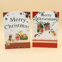 Wholesale 2016 New Fashion High grade Christmas Greeting Card Gilding Elegant Design Three dimensional CARDS For Christmas Card By Printing