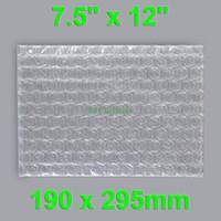 Wholesale Clear Bubble Envelopes Wrap Bags quot x quot _190 x mm Plastic Packing Pouches Flat Open Top