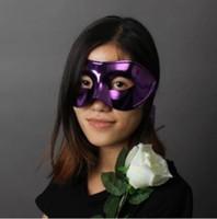 achat en gros de masques matériels pour mascarades-Livraison gratuite !!! Masque de mascarade Masques dorés Masque de fête d'Halloween Carnaval Matériaux écologiques et légers pour une tenue confortable