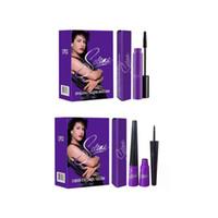 Wholesale Selena Mascara Eyeliner Opulash Mascara Liquid Eyeliner Black Makeup Eye M160 E161 Christmas Stock