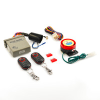 Wholesale Top Quality New Mini Remote Control Motorcycle LCD Anti theft Security Alarm System E1 Hot Selling