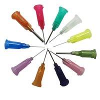 Wholesale 1000pcs Bag Spiral interface needle quot SMT SMD PCB Solder Paste Adhesive Glue Liquid Dispenser Dispensing Dropper Needles