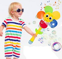 baby water safety - Toys water bubble gun automatic bubble wand baby safety child concentrate windmill electric toys educational