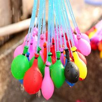 Wholesale Water filled Balloon Bunch of Balloons Amazing Magic Water Balloon Bombs Toys filling Water Ballons Games Kids Summer Beach Party