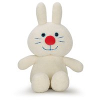 baby monkey dolls - 2016 New Cute Plush Doll Plush Rabbit quot White Lovely Figure Plush Toys for Grab Machine Baby Doll Gift Doll Wedding Gift