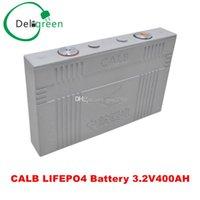 CALB LIFEPO4 Batterie 3.2V400AH (série CA) batterie pour véhicule électrique / solaire / UPS / stockage d'énergie etc