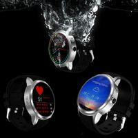 High End X200 Smart Watch Phone support Android 5.1 MTK6580 1GB / 8GB Carte SIM Wifi bluetooth GPS smartwatch pour huawei xiaomi téléphone