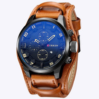 Wholesale Curren Men s Sports Quartz Watches Mens Watches Top Brand Luxury Leather Wristwatches Relogio Masculino Men Curren Watches