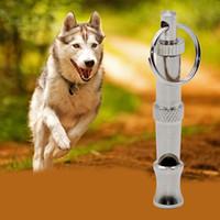 barking dog whistle - Ultrasonic Sound Pet Dog Training Whistle Flute Portable Keychain Adjustable Flute Whistle