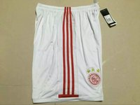 ajax shipping - _ ajax soccer shorts top thai AAA quality custom number football shorts soccer uniforms soccer clothing pants free ship