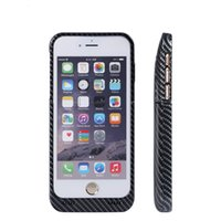 Wholesale iPhone Battery Case Portable Cell Phone Battery Charger Case Back Up Power Bank Rechargeable with Stand Inches for iPhone Carbon fib
