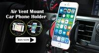 Universal pour tous les mobiles 360 Support d'air rotatif pour le support de voiture pour Iphone 7 6 6s support pour voiture support GPS Support Livraison gratuite
