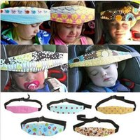 band aid baby - Baby Car Seat Sleep Adjustable Belt Nap Aid Safety Head Support Band Holder For Travel Kid Protector OOA1051