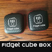 Wholesale Fidget Cube box Fidget Dice Case Soft Protective Cover Compact Storage Box Light Weight Anti scratch and Fit Perfectly
