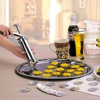 aluminium kitchen designs - High quality Aluminium Alloy Press Cookie biscuits Machine Designs Cookies Biscuit Mold Extruder Kitchen ZH786