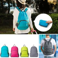 Backpacks Unisex Japan and Korean Style Free Shipping 4 Colors Backpacks Unisex Outdoor Sports Waterproof Foldable Backpack Hiking Bag Camping Rucksack
