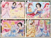 Wholesale Children s fairy tale Snow White jigsaw puzzle cartoon paper plane puzzles Educational toys for children many style for choosing