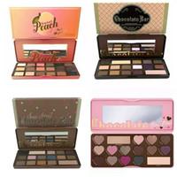 1 bar shadow - HOT Makeup Chocolate Bar Eyeshadow semi sweet Sweet Peach Bon Bons Palette Color Eye Shadow plates