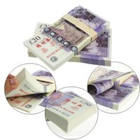 Wholesale GBP Paper Money Britain Bank Set Training Collect Learning Banknotes