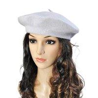 New Fashion-21 Couleurs Hiver Femmes chapeaux Doux Warm Vintage Laine Vintage Bonnets Bonnet Bonnet Loisirs