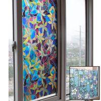 Wholesale New Arrival Window Film Glass Film Window Stickers Home Household Bedroom Bathroom Decorative Films JC0303