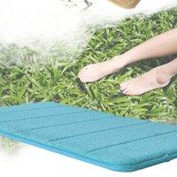 Wholesale Memory Foam Bath Mat Absorbent Slip resistant Pad Bathroom Bath Mats IB088 P15