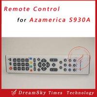 al por mayor az america s930a-Wholesale-1pc S930A teledirigido para el poste de envío libre del regulador alejado de Azamerica S930A del receptor basado en los satélites de América AZ S930