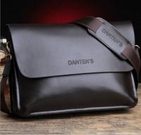 Wholesale new men s business bag casual men shoulder messenger bag luxury brand Men s genuine leather bag fashion handbag dh231