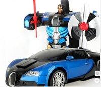 Wholesale Hot sale Wireless city deformation of the car Birthday present Cool Amun re Children s favorite