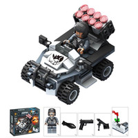 best building toys - Puzzle building block toys military series Assembly blocks children s educational toys the best gift for children