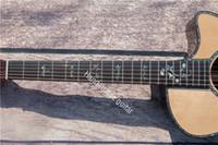 Рифма гитары на заказ, панель ель, боковая пластина розового дерева.