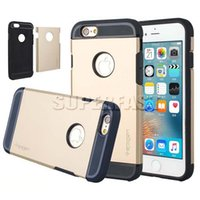 abs pc plastic - For iPhone7 Armor Case For iPhone Plus Hybrid Case Shockproof Back Cover Case