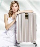 Wholesale Han ke store treasure box Universal wheel rolling suitcase inch suitcase fine men and women bags