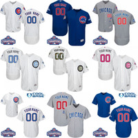 baseball jersey sales - 2016 World Series Champions Patch Men s Custom Chicago Cubs Baseball Jersey Flexbase Collection For Sale stitched size S XL
