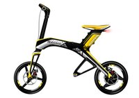 Wholesale Solarstars Robstep X1 Electric Foldable Bike Sporting Version Cycling Bluetooth Support Ah Lith on Batery Portable Bicycle Yellow