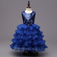 achat en gros de conceptions robe pour les enfants-Robe de soirée de mariage de dentelle de mariage 3colors