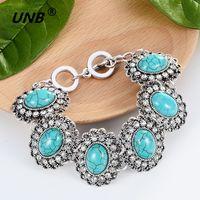 Bracelet Charm Bracelet Argent Antique Charm Bracelet Chaîne Bracelet Bracelet Fashion Wristband Cuff Bead Bracelet bijoux instantané