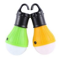 Wholesale LED Camping Tent Light Bulb Portable Night Light Outdoor Lantern Emergency Tent Lantern for Hiking Camping Hunting Fishing