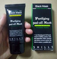 Wholesale 2017 New SHILLS Deep Cleansing Black MASK ML Blackhead Facial Mask facial mask Smooth Skin Shills Masks free DHL