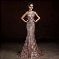 Wholesale 2017 The Hot Selling long slim party dress Fashion Your party dress fishtail Perspective Sexy Bride Wedding Evening Dress