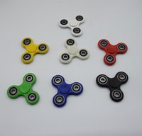 Wholesale Hot Toy EDC Hand Spinner Fidget Toy For decompression anxiety Finger spinner Toys For Killing Time With the retail box DHL free