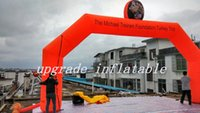 Wholesale Red Commercial Inflatable Arch For Promotional Event