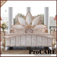 Wholesale luxury bedroom furniture set from foshan furniture