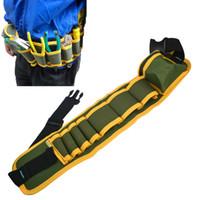 Wholesale Fashion Multifunction Durable Hardware Mechanics Canvas Tool Bag Safe Belt Pouch Utility Kit Pocket Pouch Organizer Bags