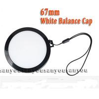 balance lens cap - mm White Balance Lens Cap with WB Filter Mount for Digital Camera Filter Lens