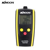 Wholesale KKmoon Alcohol Tester Portable Digital Meter Alcohol Content Detector High Sensitivity Breathalyzers