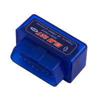 Wholesale OBD V2 mini ELM327 OBD2 Bluetooth Auto Scanner OBDII Car ELM Tester Diagnostic Tool for Android Windows Symbian